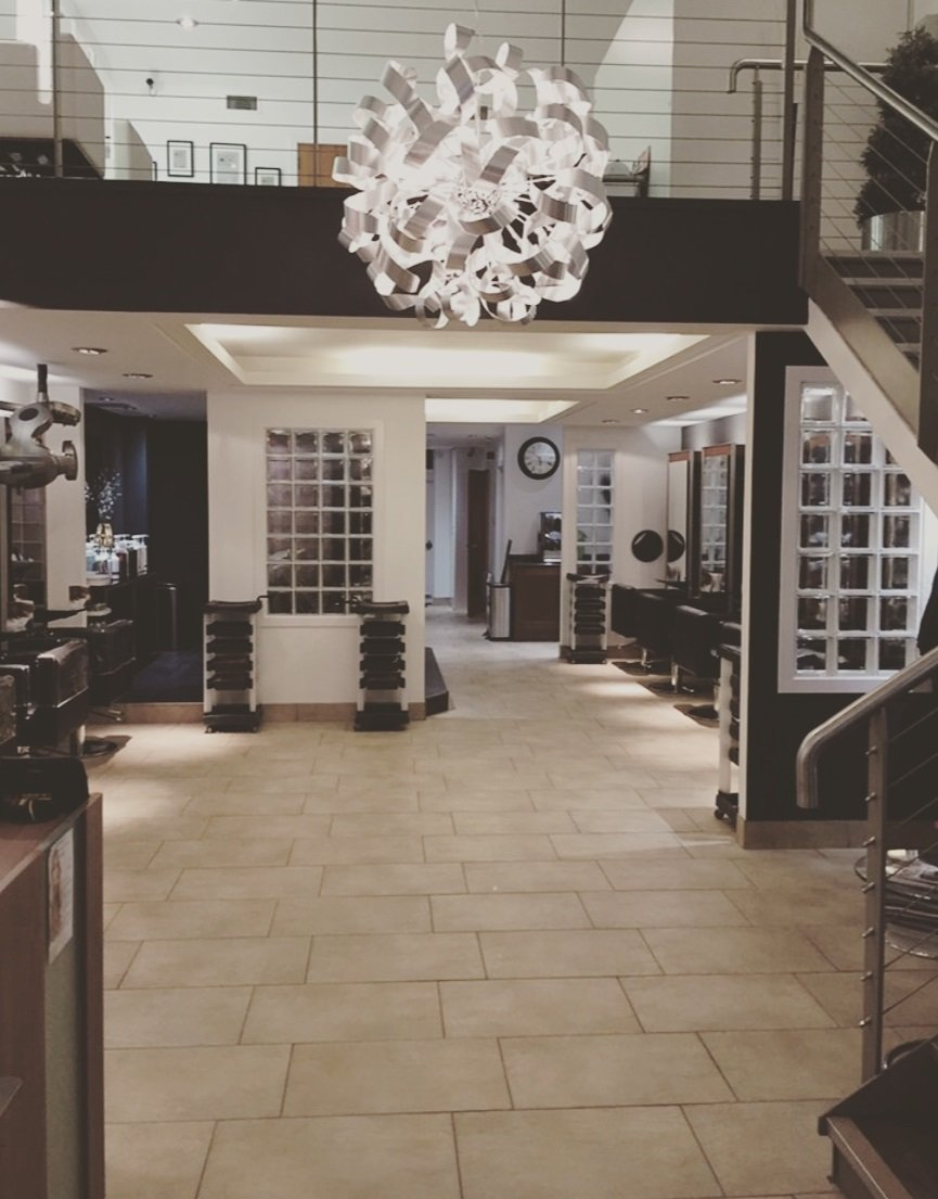 inside west with style hair & beauty salon in westhill