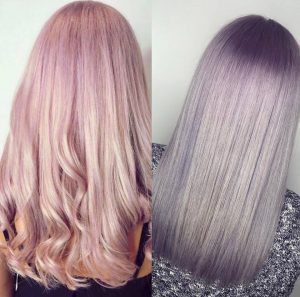 pastel hair colours, hair salon, westhill, aberdeenshire