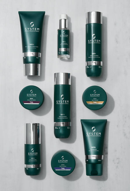 Re -energise Your Hair with the new SYSTEM PROFESSIONAL MAN range