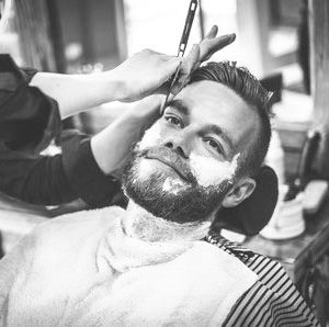 hot towel wet shaves at West Man top Barber Shop in Westhill Aberdeen