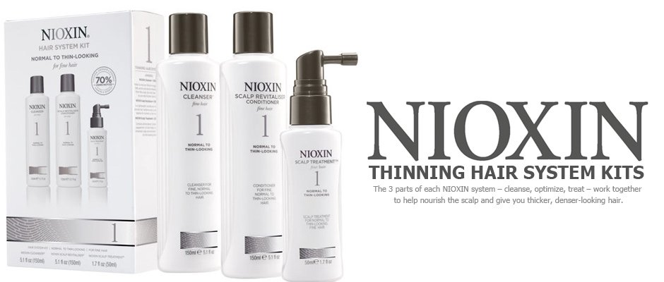 Nioxin products west man barbers Aberdeenshire