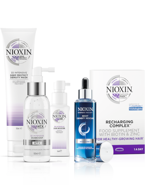 Combat Thin Hair with Nioxin