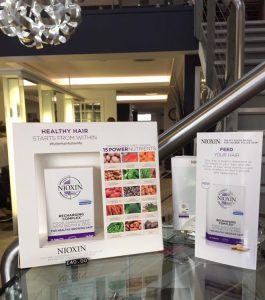 nioxin recharging complex at Westhill hairdressers and barber shop