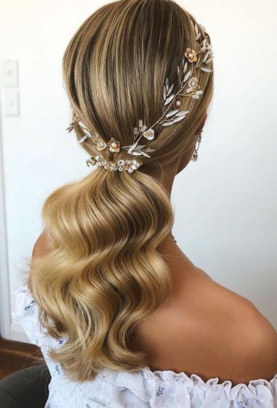 Wedding Hair Trends 2019