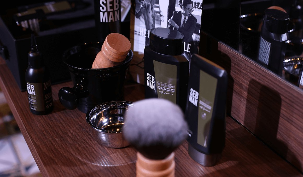 SEB MAN Grooming Products Westhill Barber Shop