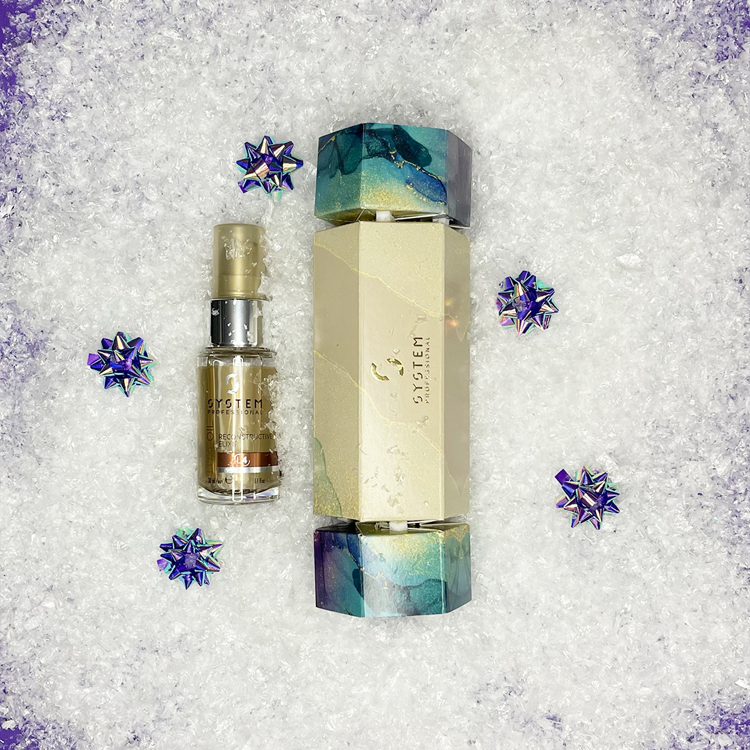 LuxeOil Cracker Xmas Gift sets 2021 Westhill Hairdressers